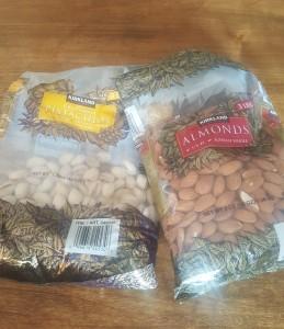 Almonds Pistacios
