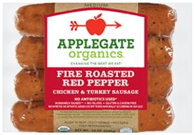 Roasted Red Pepper Sausage